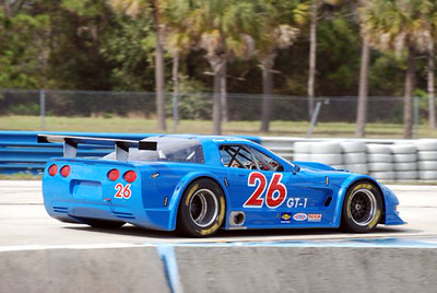 # 26 - 2009 SCCA GT1 - Dave Machavern at Sebring 02