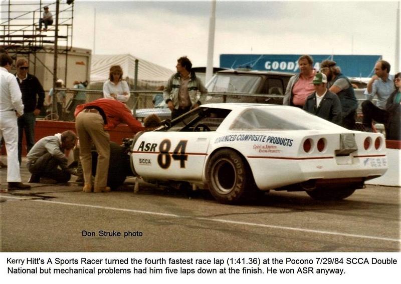 # 84 - 1988 SCCA ASR, Kerry Hitt at Pocono