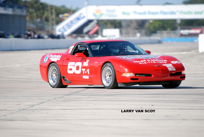 # 50 - 2010 SCCA T1 Ron Landis at Sebring