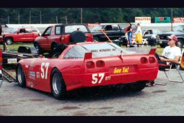 # 57, 88 - 2000 GT1 Hillclimb - Butch Kummer in ex-Mo Carter