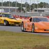 # 59 - 2007 SCCA GT1 Simon Gregg at Sebring leads # 73 Clark Howie
