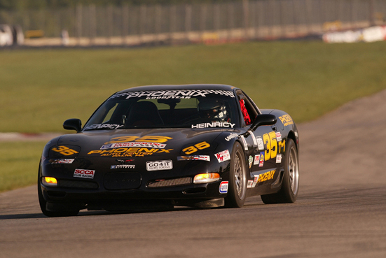 Chevrolet is the overwhelming choice of grassroots racers, dominating sportsman drag racing and oval track competition. John Heinricy, director of High Performance Vehicle Operations for GM Performance Division, won three consecutive Sports Car Club of America national championships in the Touring 1 class.