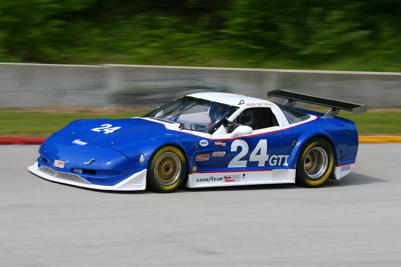 # 24 - SCCA GT1 - 2011 RA Jun Sprints - Rick Dittman, 2nd