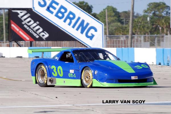 # 30 - 2010 SCCA GT1,Richard Grant at Sebring