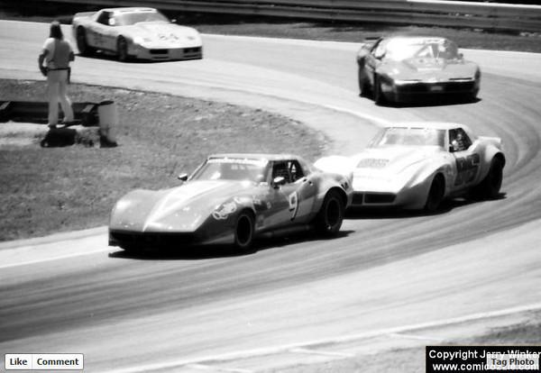 # 9 - 1984 SCCA June Sprints - Don Sak # 86 Tuck Thomas