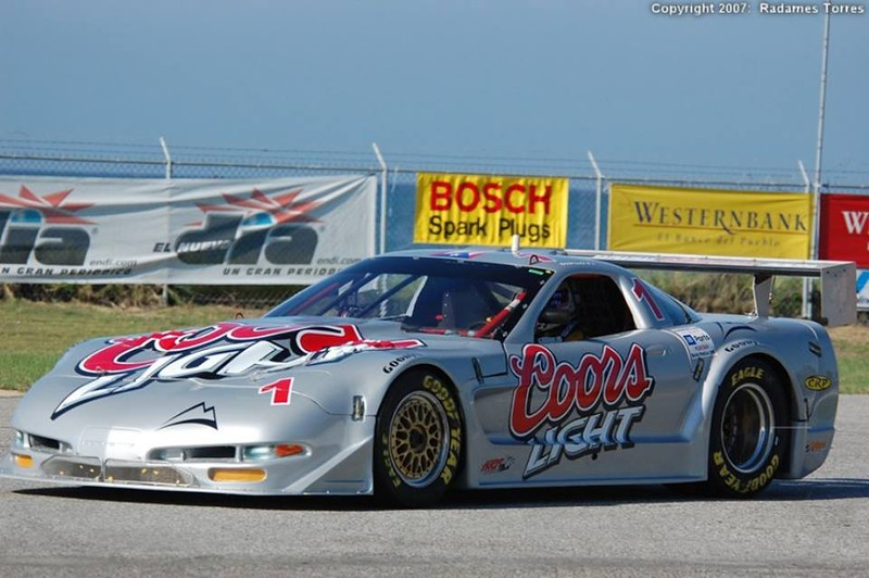 # 1 - 2007 SCCA GT1 Coors Light tbd