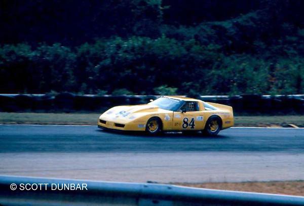 # 84 - 1984 SCCA GT1  Doug Rippie at Runoffs