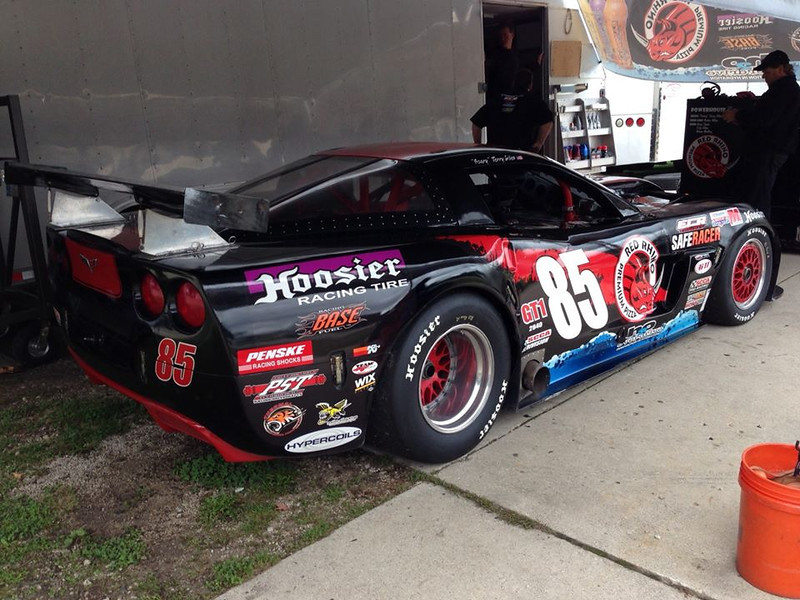 # 85 - 2013, SCCA GT1, Terry Giles at Runoffs