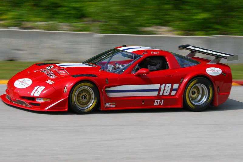 # 18 - SCCA GT1 - 2011 RA Jun Sprints - Paul Musschoot 11th