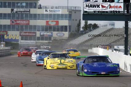 # 88 - 2008 SCCA GT1 - Bud Thurston - GJ-5009
