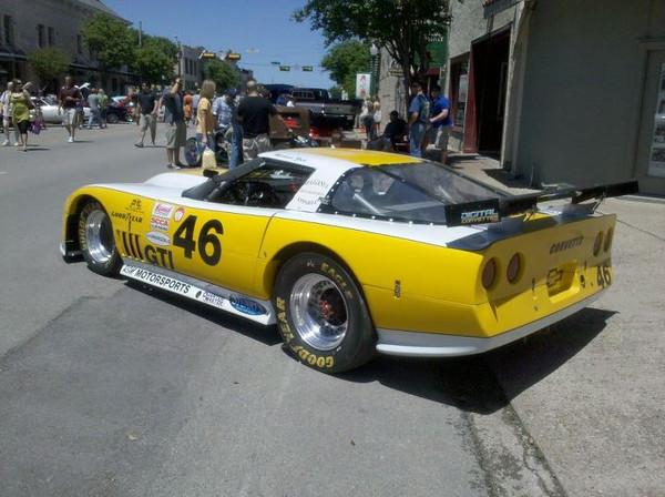 # 46 GT1 Michael Zoch at car show