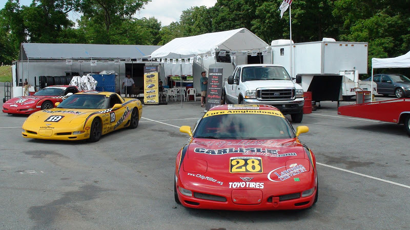 # 28 - 2009, Lance Miller & Bill Miller at Summit Point for CMCF