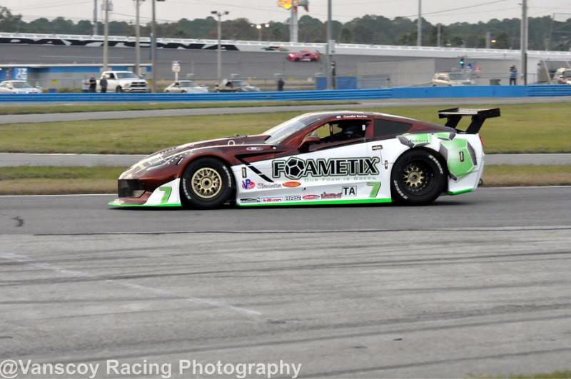 # 7 - 2014 TA, Claudio Burtin at Daytona 03