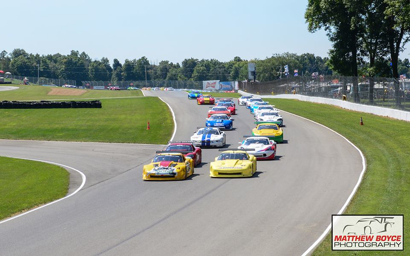 # 4 - 2014 TA Tomy Drissi leads start at Mid-Ohio 02