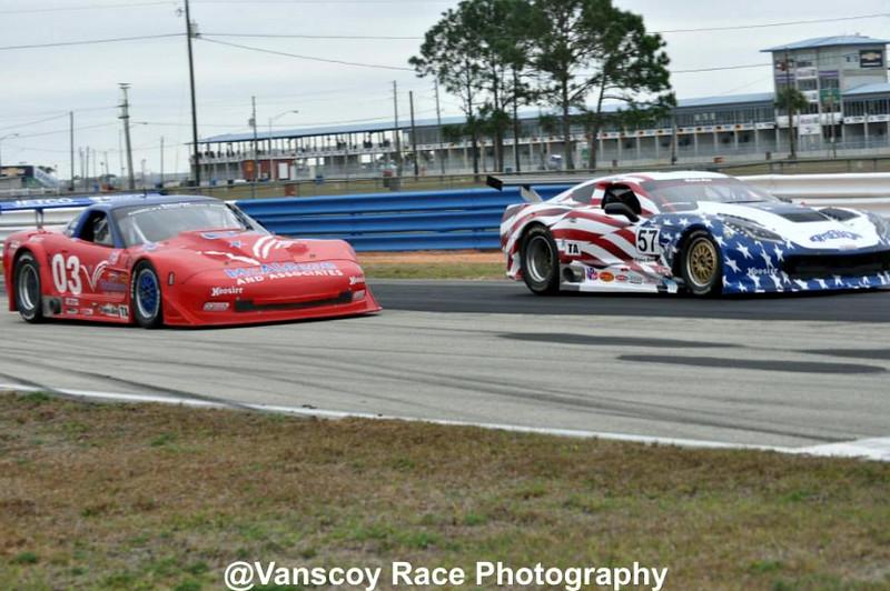 # 03 - 2015 Trans-am - Jim McAleese following # 57 David Pintaric at Sebring - 01