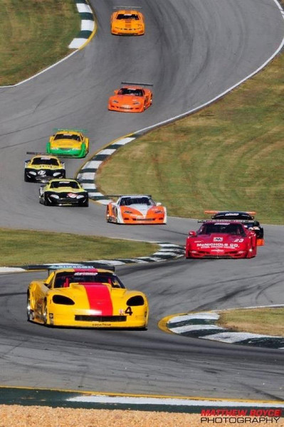 # 4 - SCCA TA, 2011, Tony Ave leads field at Road Atlanta