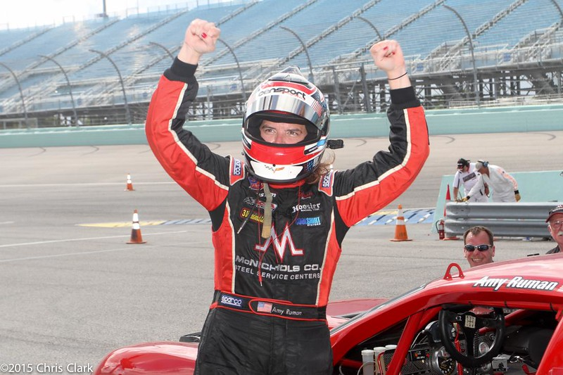 # 23 - 2015 TA - Amy Ruman wins at Homestead 01