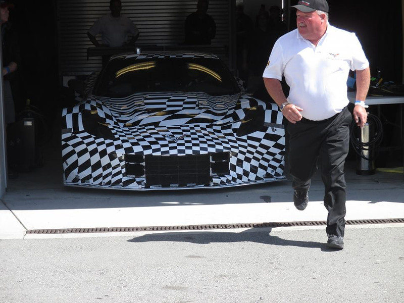 "# 00 - 2013, Dan Binks launching C7R GTE at RMMR, <a href=""https://www.youtube.com/watch?v=B_4pYm7ZMG4"">https://www.youtube.com/watch?v=B_4pYm7ZMG4</a>"