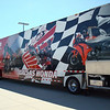 53' race hauler, Al Lamb's Honda, Dallas, TX