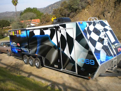 Michael Weinreb 28' trailer, Los Angeles, CA
