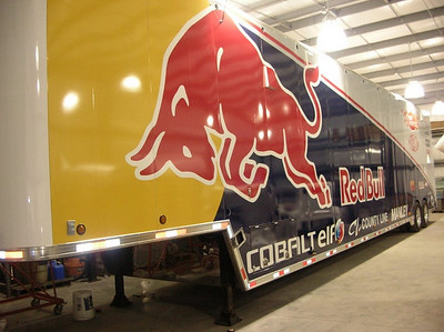 Red Bull, Race Hauler, Dallas, TX