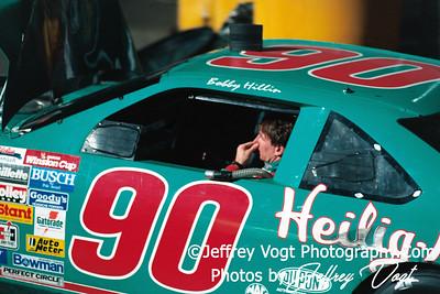 Bobby Hillin Jr., Nascar Driver