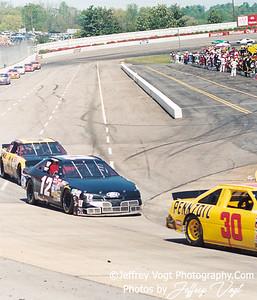 Chuck Bown, Nascar Driver
