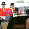Princess Anne and Princess Beatrice arrive at Royal Ascot,  Fashion and scenes, Royal Ascot, Ascot Race Course, England, 6/19/14 photo by Mathea Kelley