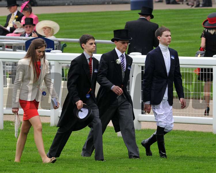Joseph and Aidin Obrien, and family Royal Ascot; UK, photo by Mathea Kelley 6/18/13