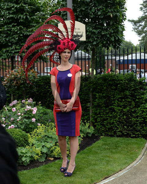 Fashion and scenes, Royal Ascot, Ascot Race Course, England, 6/19/14 photo by Mathea Kelley