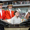 Princess Eugenie arrives at Royal Ascot,  Fashion and scenes, Royal Ascot, Ascot Race Course, England, 6/19/14 photo by Mathea Kelley