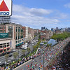 2010 Boston Marathon - viewed from the Buckminster Hotel