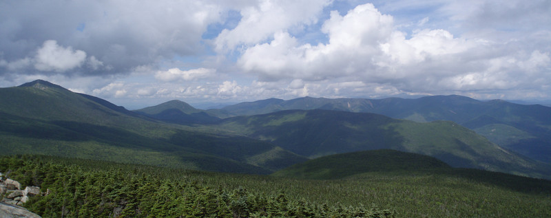 Panorama taken from Mt Liberty