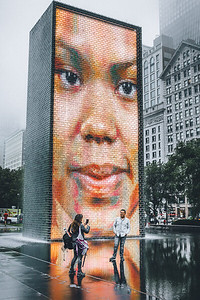 Crown Fountain - Chicago