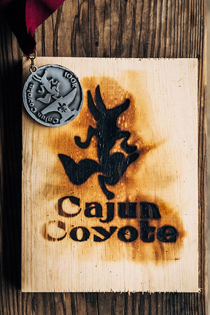 Cajun Coyote Ultras in Chicot State Park in Ville Platte, Louisiana on December 3rd, 2016. It was chilly and raining the entire race!