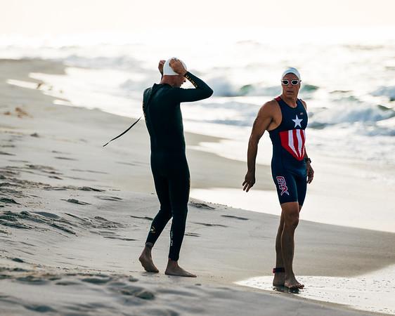 Mullet Man Triathlon - Swim Leg