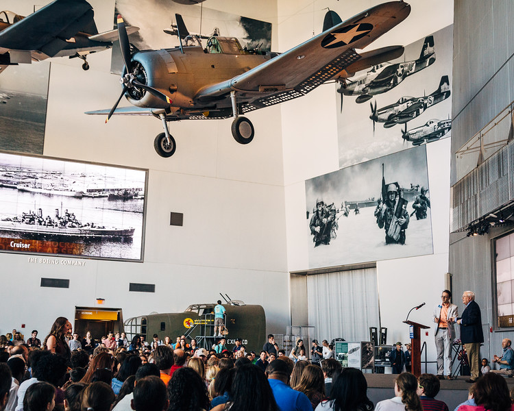 Event for high school students at The National WWII Museum