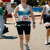 A joyous Patti at the finish line.