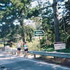 "Laura and Reid announce that they have reached the dreaded Carmel Highlands, described in the race brochure as ""a series of short steep hills made all the more brutal by the sharp cant of the road."""
