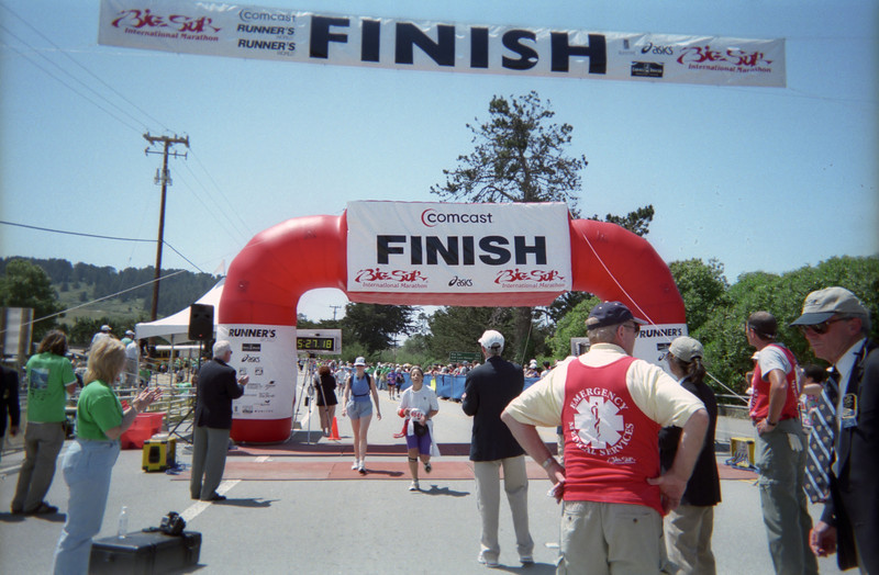 And yes, Patti squeaks under the finish line with three minutes to spare.