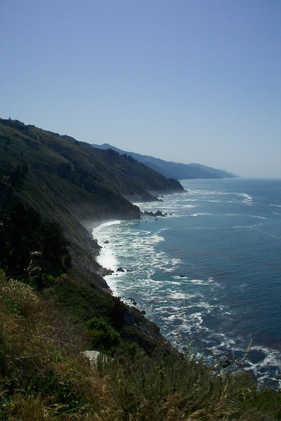 Next we pile in the car and travel to Julia Pfeiffer Burns State Park where we take a short hike to McWay Falls.