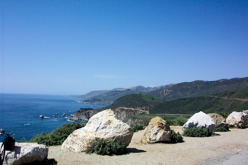 Then it's on to Hurricane Point with Bixby Bridge in the distance.