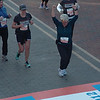 Jeane at the finish!