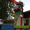 We end our stay at Animal Kingdom with Mickey's Jammin' Jungle Parade...and a final goodbye from Goofy.  It's only fitting given Laura's slam-dunk of Goofy's Challenge.