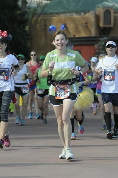 The marathon course takes Laura to Animal Kingdom next.