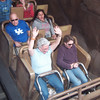 Jeane is the only really brave one on Expedition Everest!