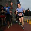 Laura exits Cinderella's Castle.