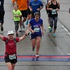 Patti crosses the finish line!