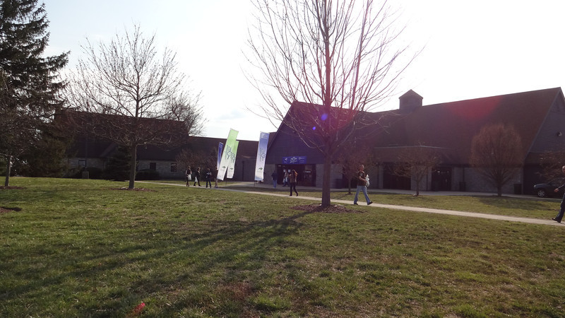 We arrive at Keeneland on Friday night before our first Run the Bluegrass Half-Marathon.