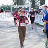 Patti comes up on the finish line
